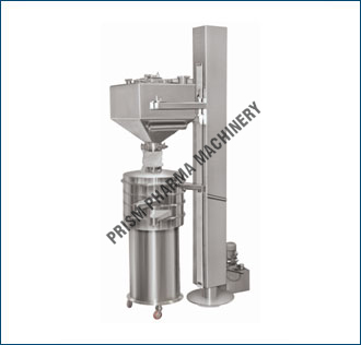 IBC Loader with inline Sifter
