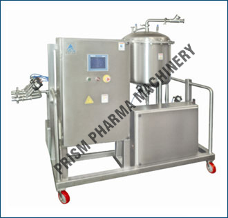 CIP-WIP System : Fluid bed equipment, Fluid Bed Dryer FBD