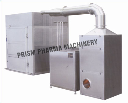 Closed Cabinet type IBC Bin Washing System